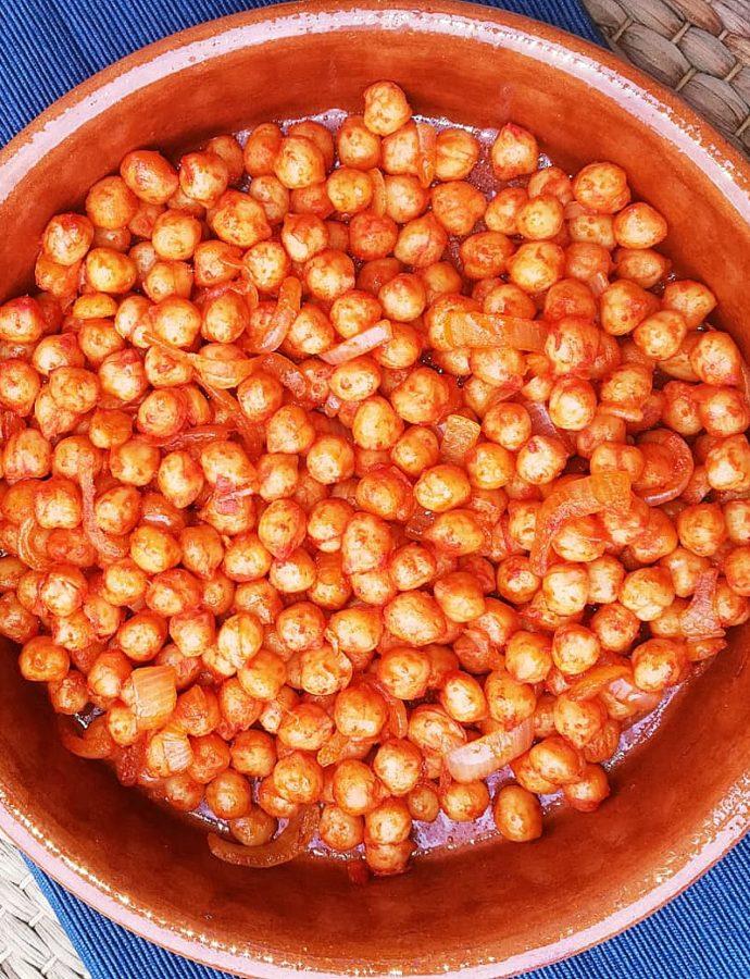 Goegerie (channa), Hindoestaanse kikkererwtensnack