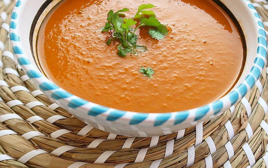 Tomaten-linzensoep