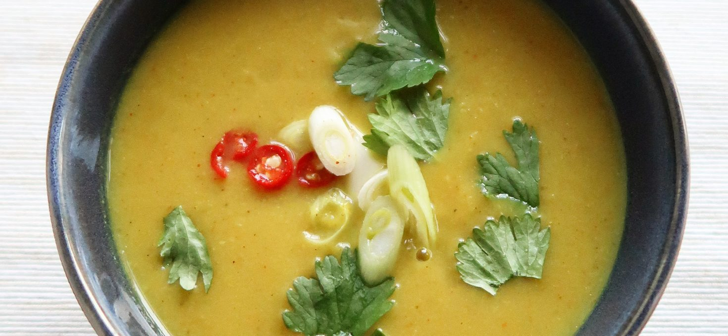 Aloo gobi soep – Indiase bloemkoolsoep