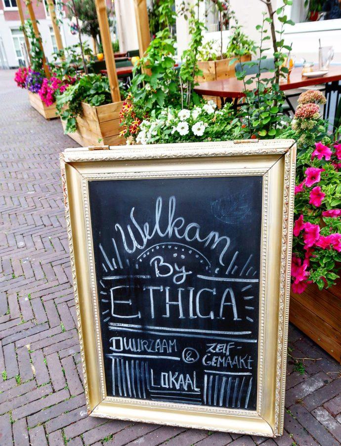 Duurzaam eten aan de gracht bij Restaurant Ethica