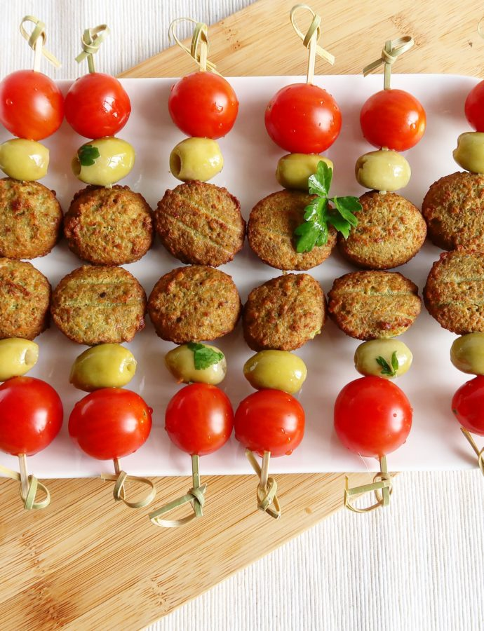 Falafel party spiesjes