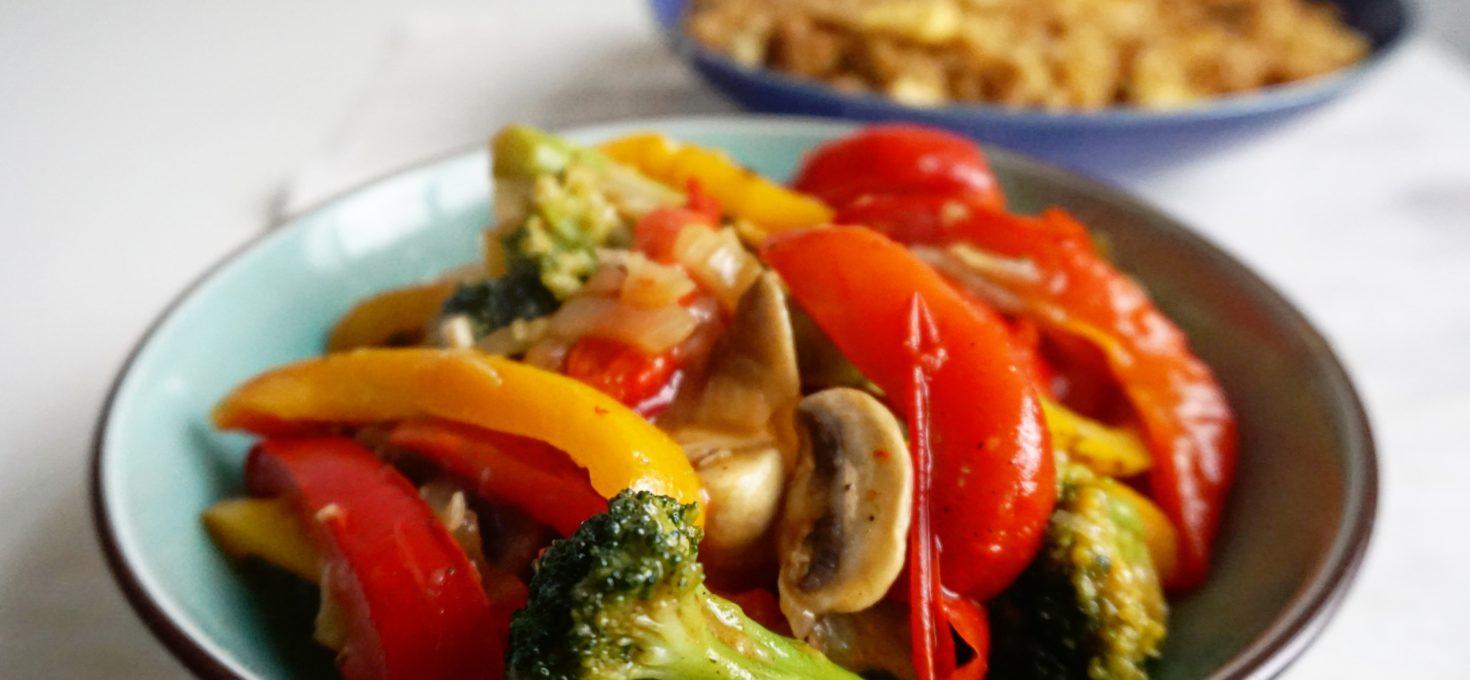 Vegetarische Tjap Tjoy