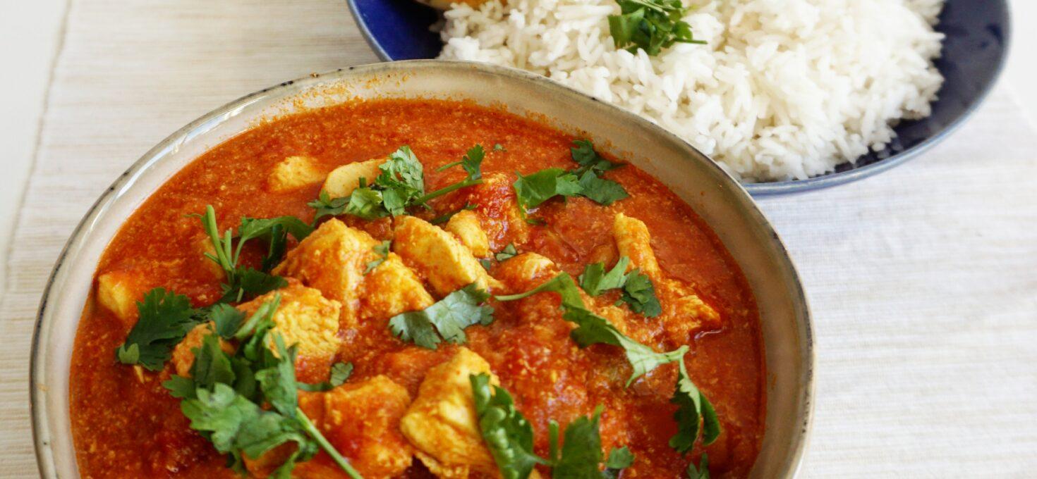 Indiase Chicken Madras