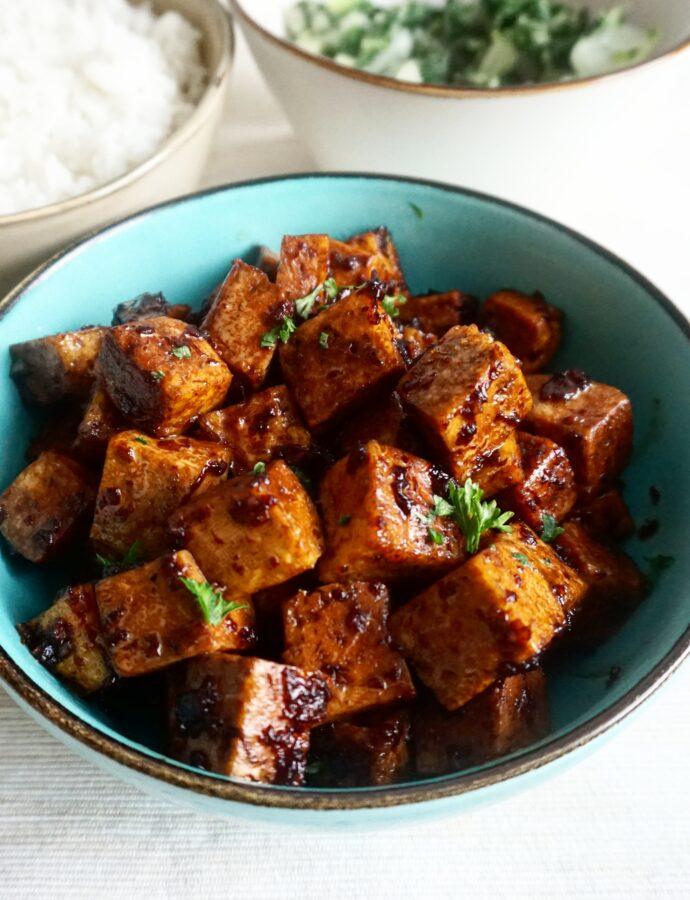Surinaamse Ketjap Tofu
