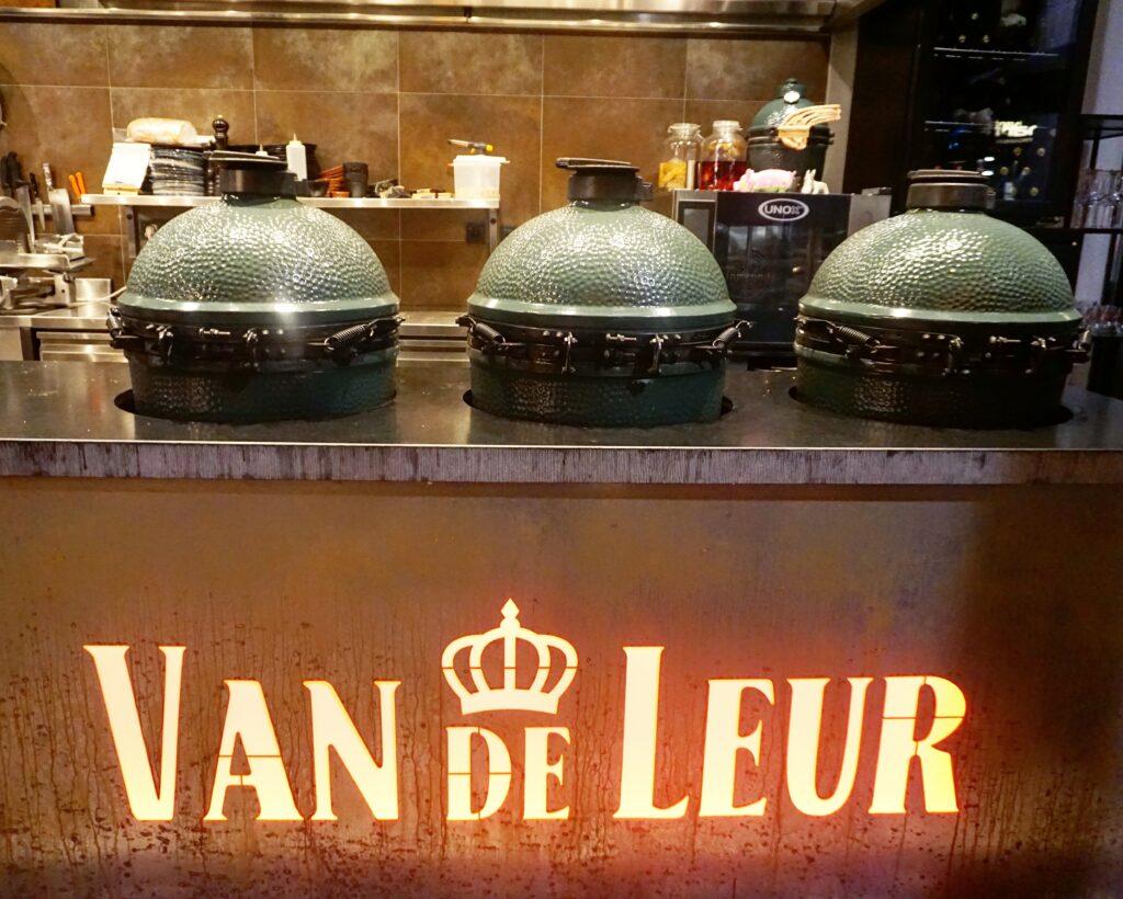 Culinair eten van de Big Green Egg bij Van de Leur in Den Haag