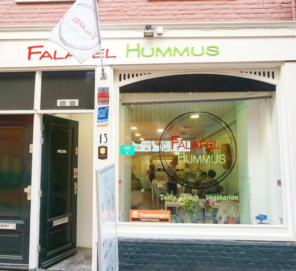 Midden Oosters Vega(n) eten in Den Haag Centrum - Falafel en Hummus