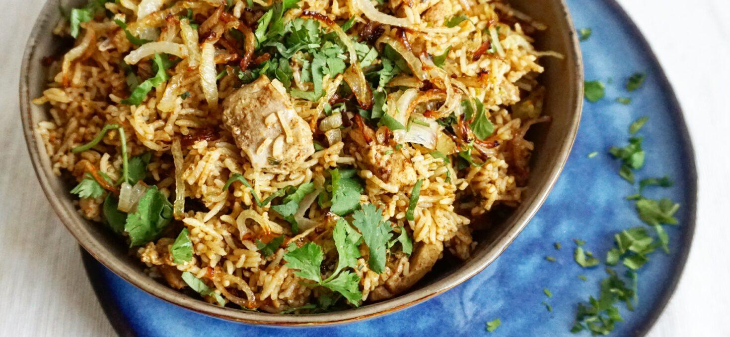 Indiase Chicken Biryani