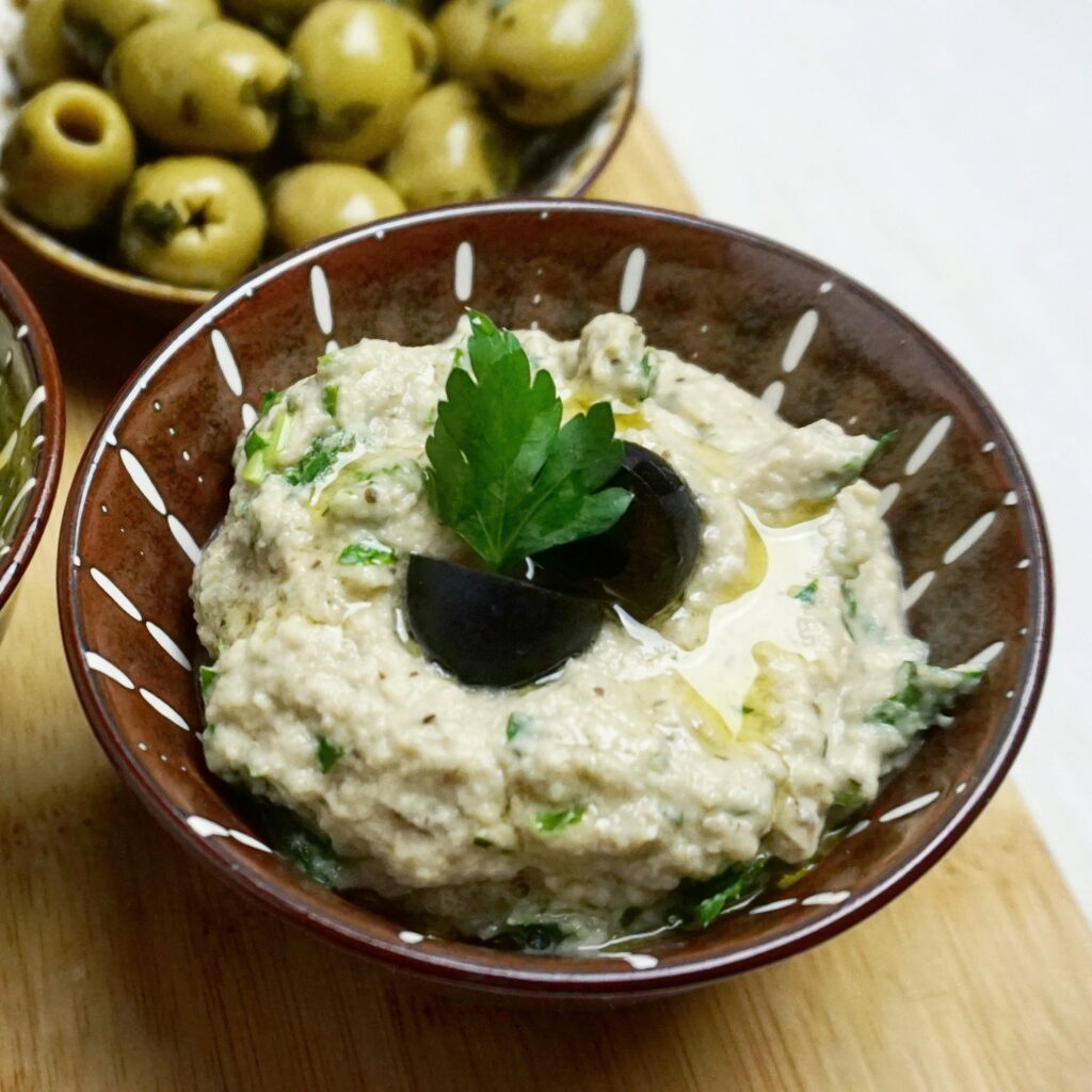 Midden Oosterse Baba Ganoush