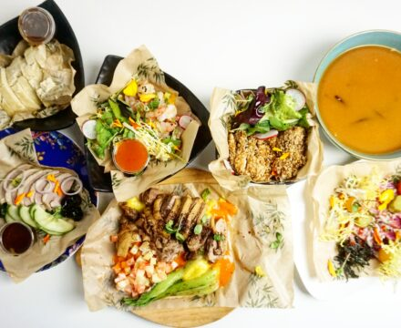 Fusion Asian dineren at home door HanTing Delivery