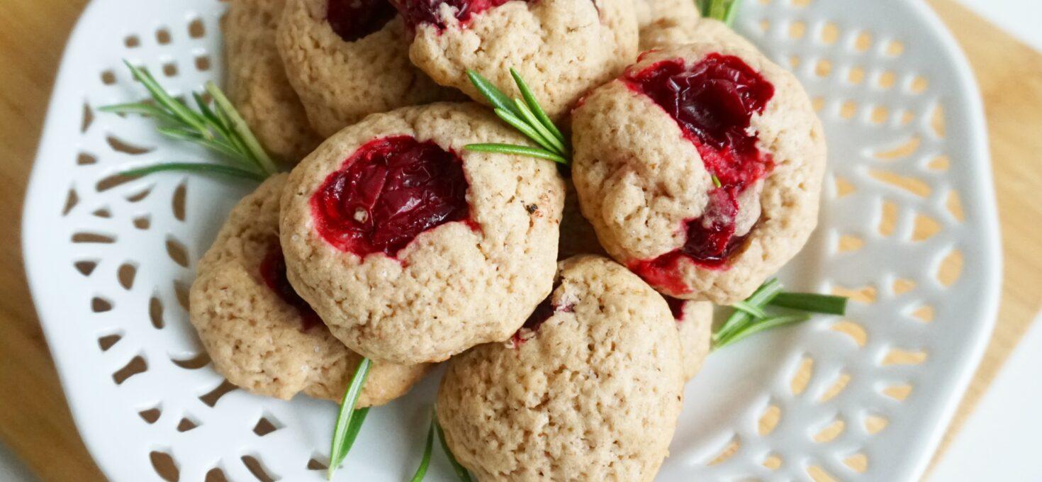 Cranberry koekjes met kaneel