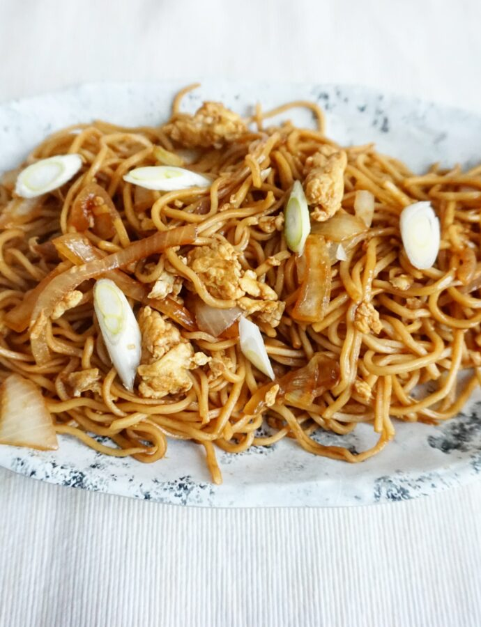 Snelle Chinese, Surinaamse Chow Mein