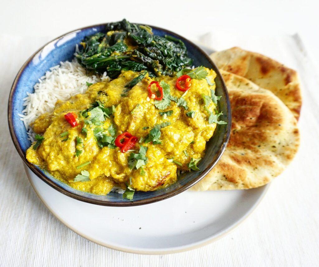 Indiase Chicken Zafrani