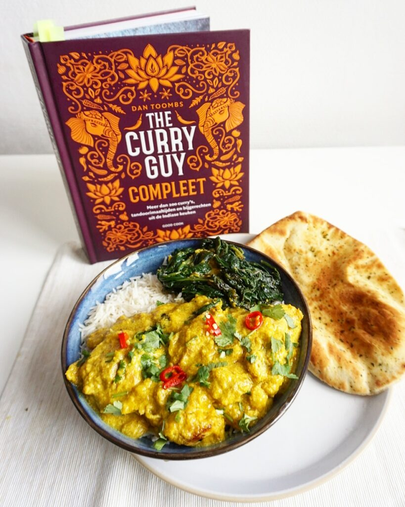 Boekreview The Curry Guy Compleet - Dan Toombs