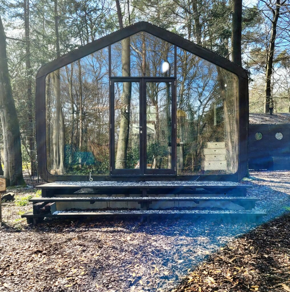 Logeren in het duurzame Wikkelhuisje in de Veluwe