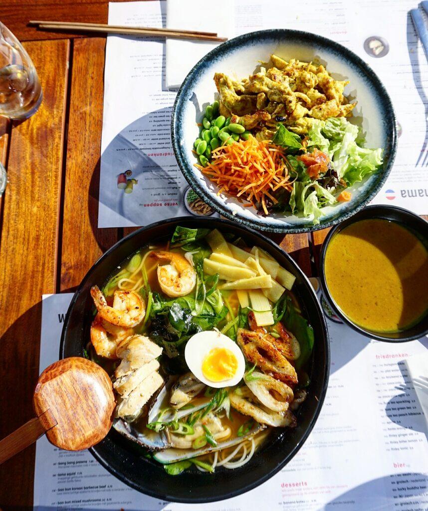 Asian Streetfood bij Wagamama in Den Haag