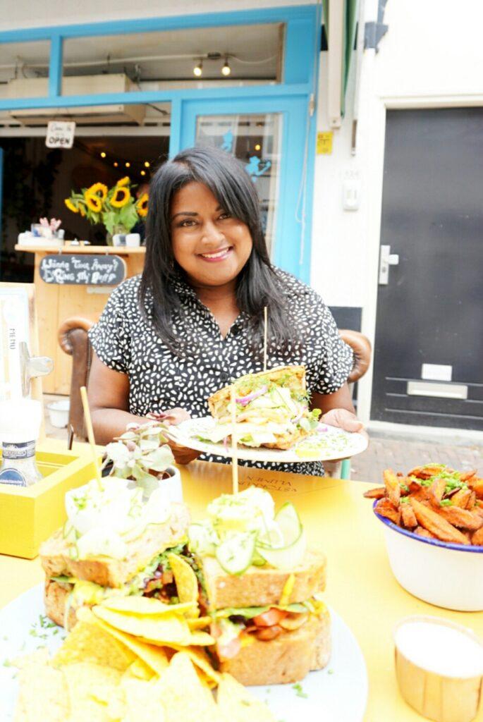 Lunchen bij Appeltje Eitje in Scheveningen