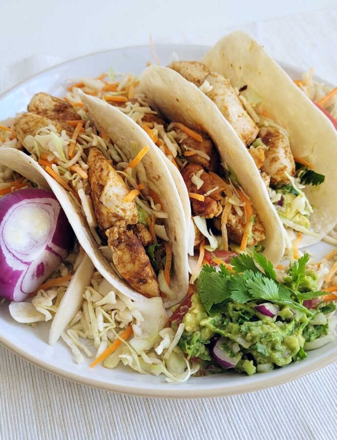 Taco's Al Pastor met kip