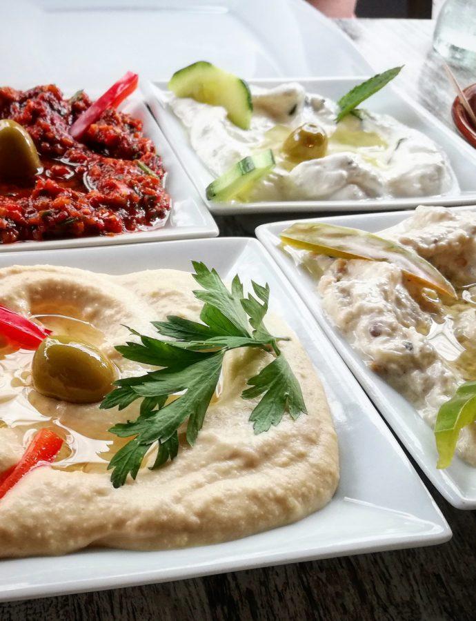 Amier- Libanees eten in Den Haag
