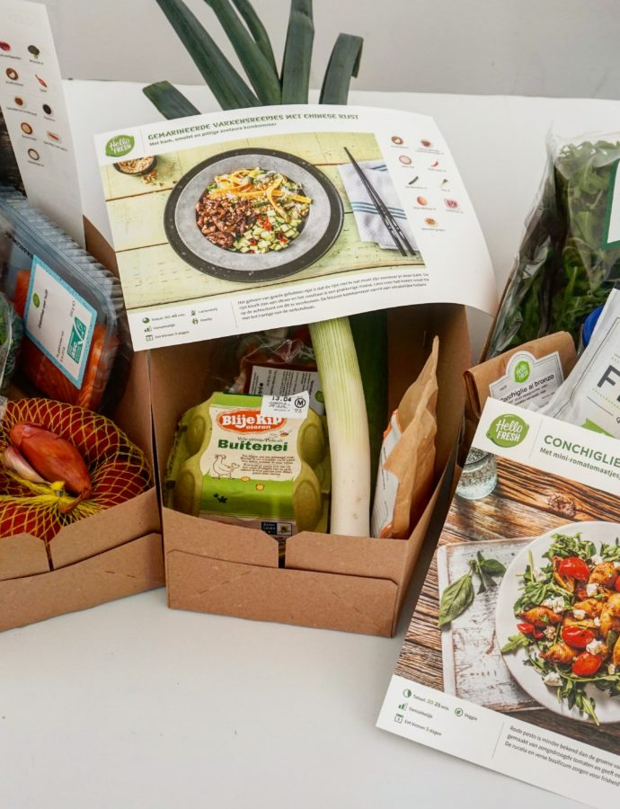 Review Hello Fresh maaltijdbox